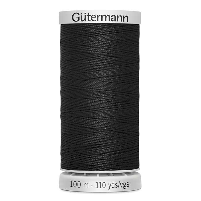 Sukanec, Gütermann ekstra, 724033-0000, črna