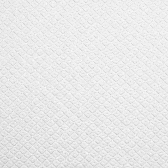 Pletivo, debelejše, geometrijski, 19215-1, bela