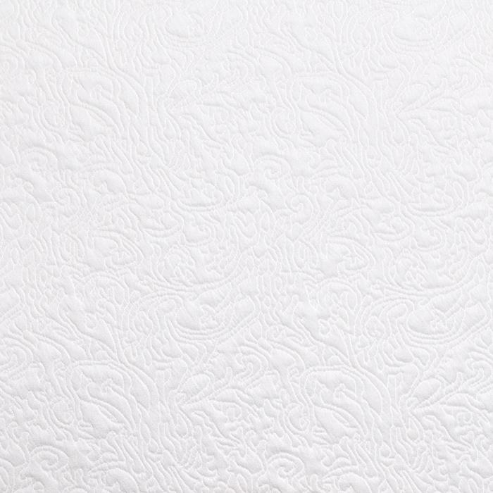 Pletivo, deblje, ornamentni, 19215-2, bijela