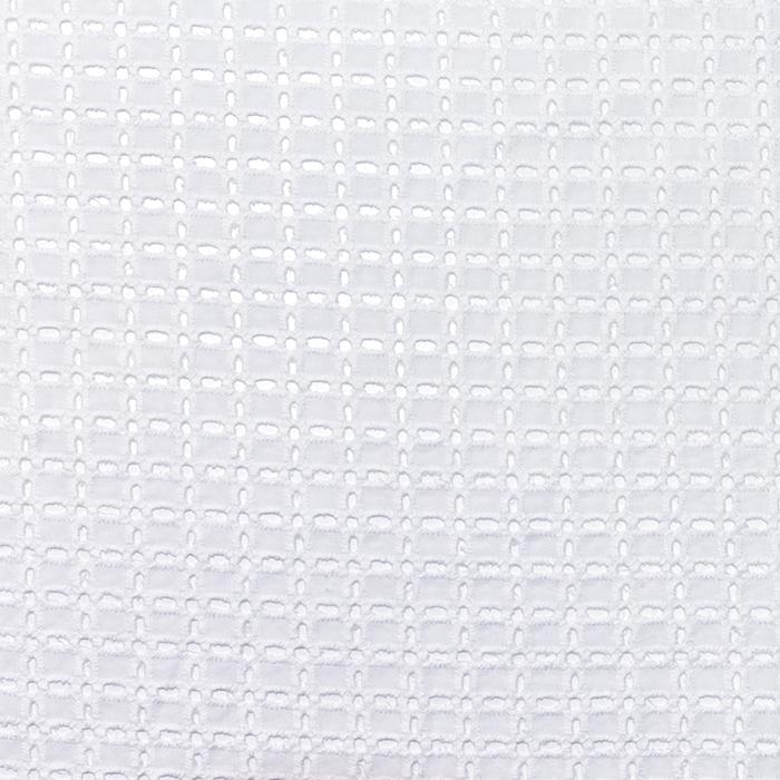 Pamuk, rišelje, geometrijski, 20188-8, bijela