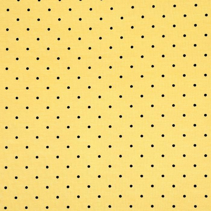 Jersey, bombaž, pike, 20399-006, rumena