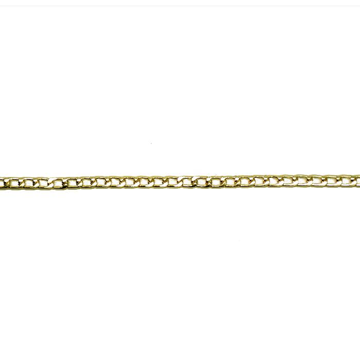 Traka, lančić, 4 mm, 20417-100, zlatna