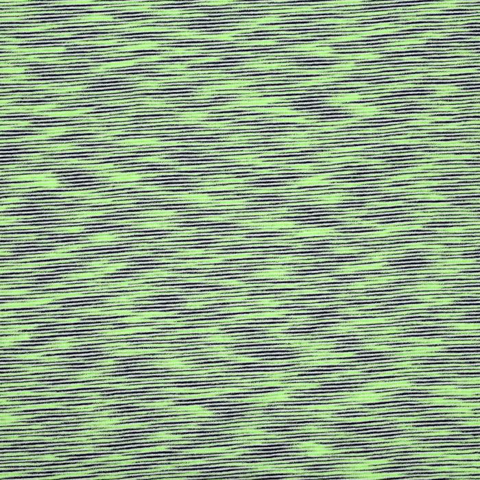 Pletivo tanjše, bombaž, melanž, 20520-023, zelena