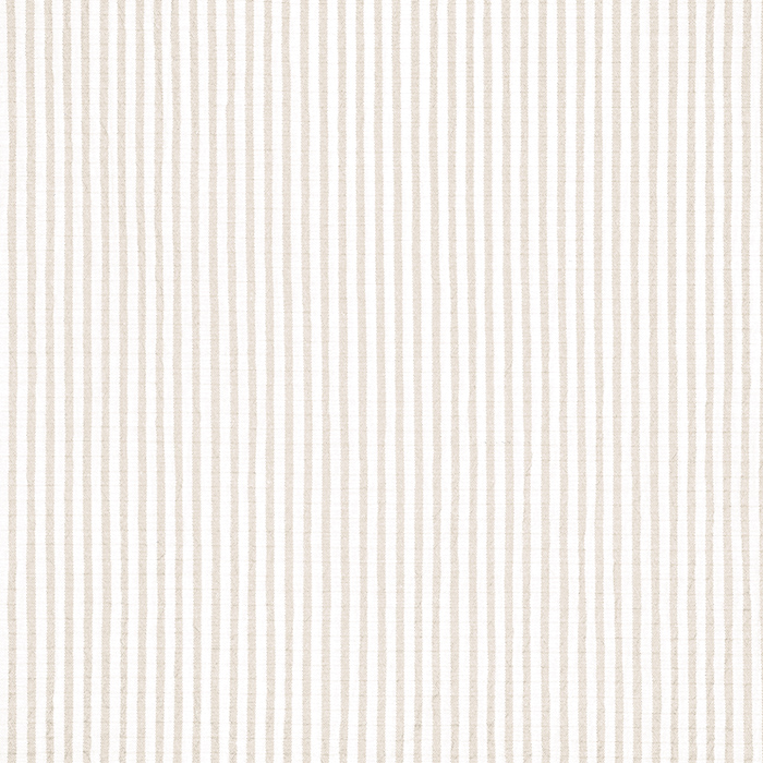 Bombaž, mečkanka, črte, 20533-052, bež