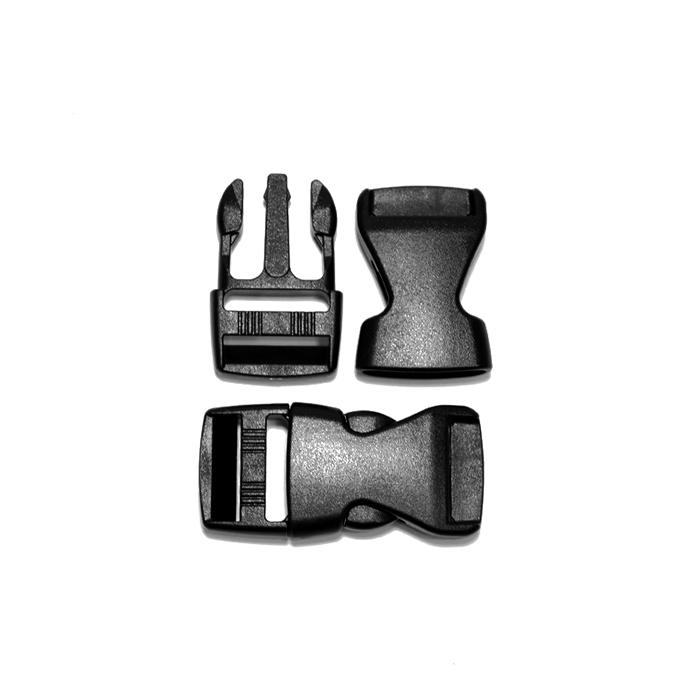Schnalle, 15mm, 20423-002, schwarz