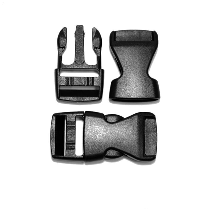 Schnalle, 25mm, 20425-002, schwarz