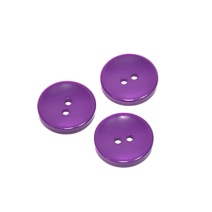 Knopf, klassisch, violett, 15mm, 20450-022