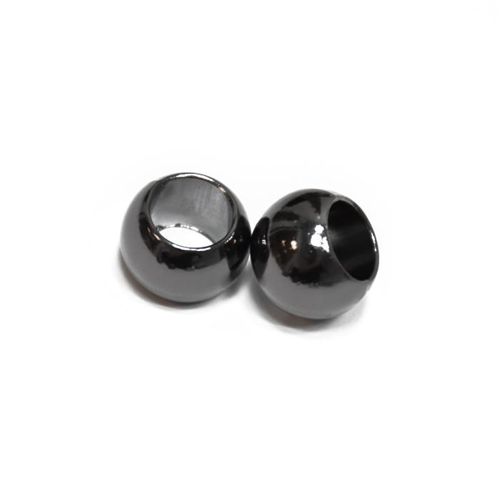 Schnurabschluss, metallisch, 10 mm, 20457-105, schwarz