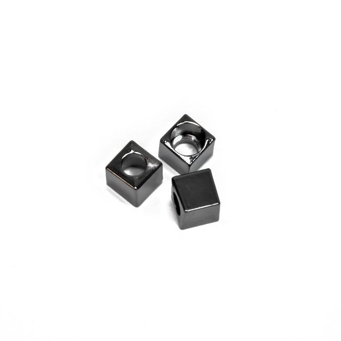 Završetak za nit, metalni, 5 mm, 20458-105, crna