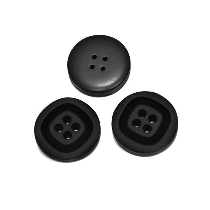 Knopf, für Anzüge, 20 mm, 20468-002, schwarz