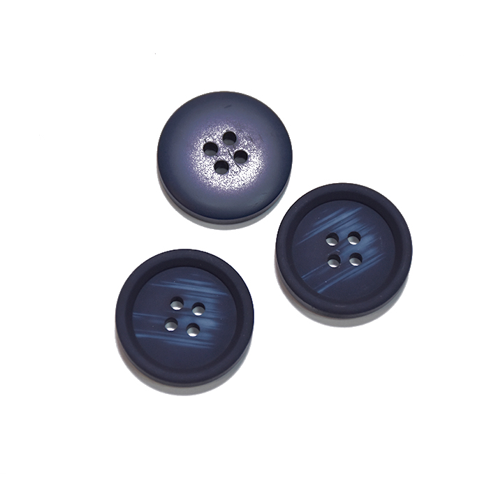 Knopf, für Anzüge, 20 mm, 20471-020, dunkelblau