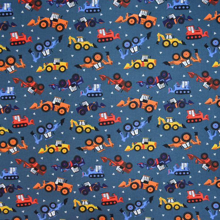Triko materijal, čupav, 20731-6, plava