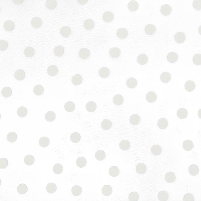 Tüll, weich, Punkte, 20734-1, weiß
