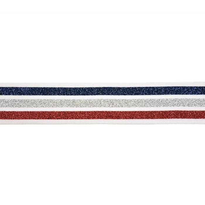 Elastikband, 20 mm, Streifen, 20488-1001