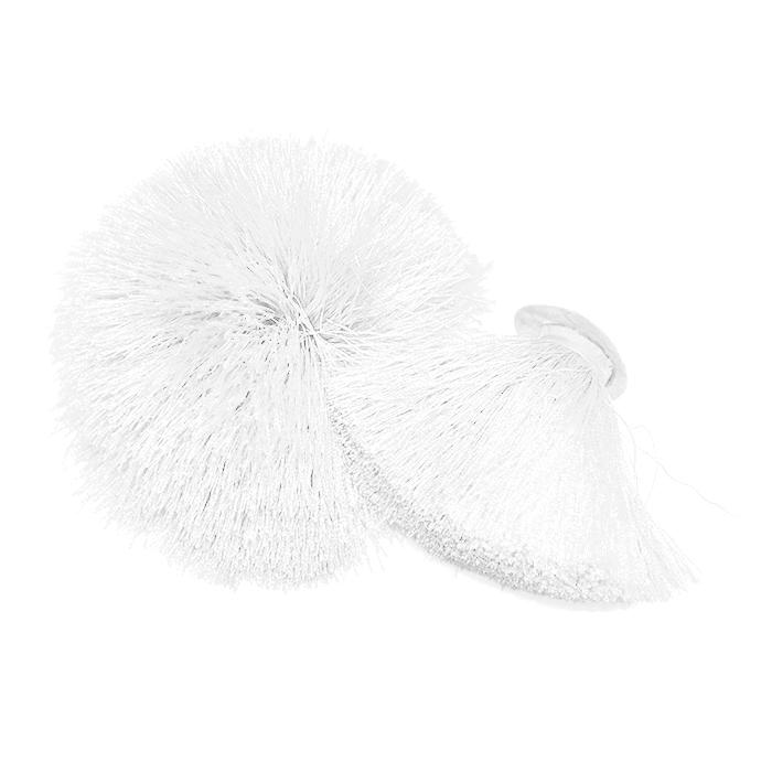 Dekorativni cof, 55 mm, 20496-001, bela