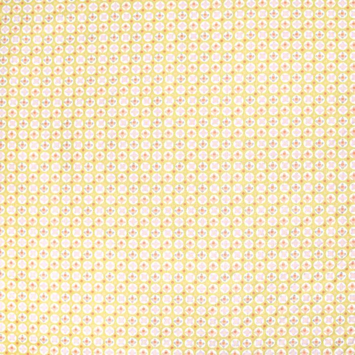 Baumwolle, Popeline, geometrisch, 20790-4, gelb