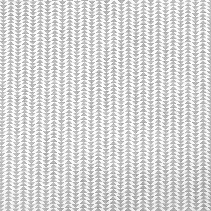 Bombaž, poplin, geometrijski, 20795-3, siva