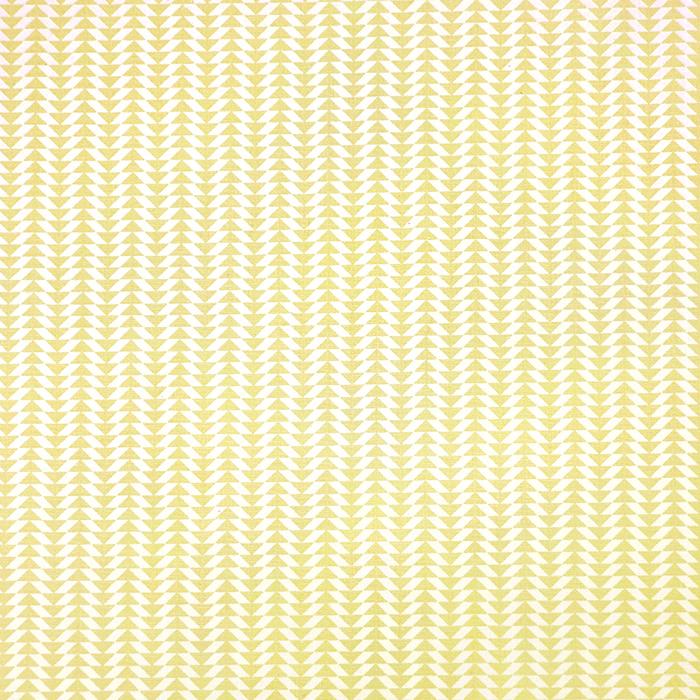 Bombaž, poplin, geometrijski, 20795-4, rumena