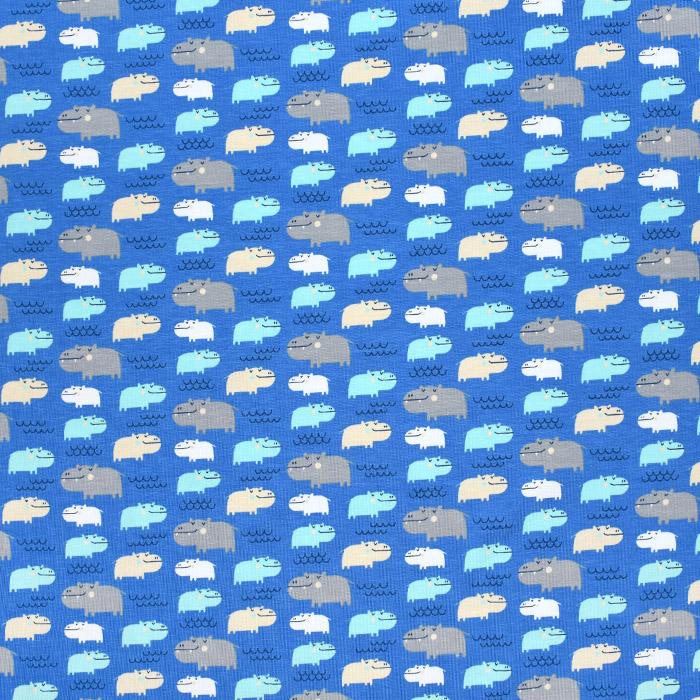 Jersey, bombaž, otroški, 20894-3006,  temno modra