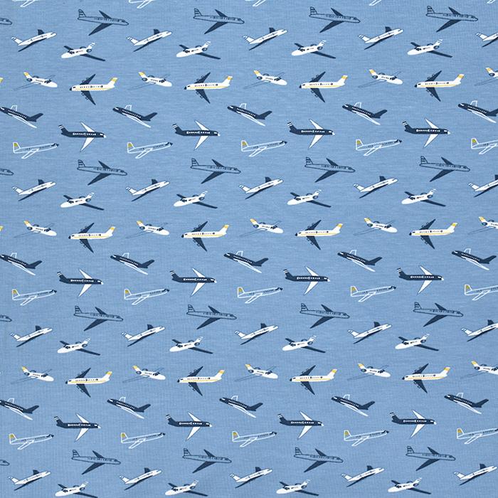 Jersey, Baumwolle, für Kinder, 20895-3002, blau