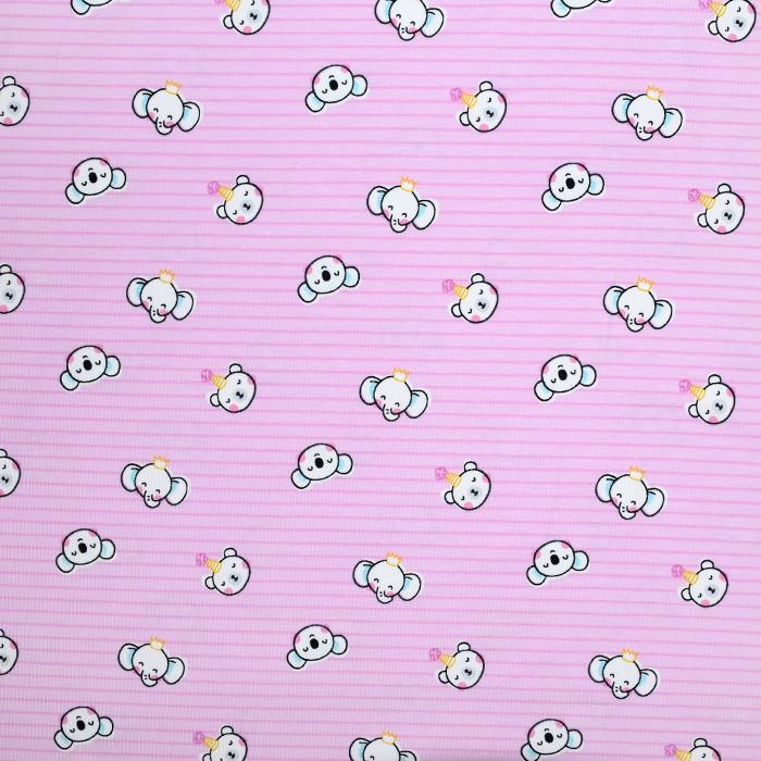 Jersey, bombaž, otroški, 20896-3003, roza
