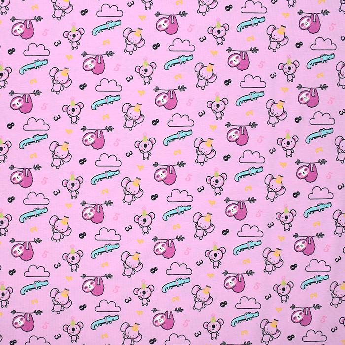 Jersey, Baumwolle, für Kinder, 20899-3005, rosa