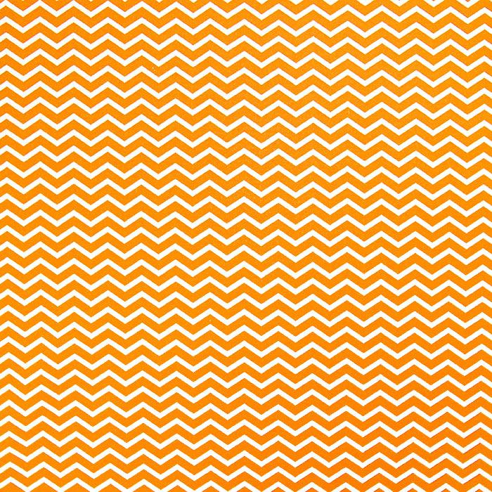 Bombaž, poplin, geometrijski, 20854-2, oranžna