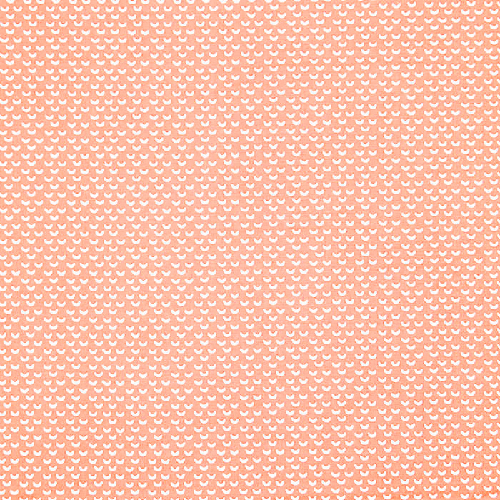 Pamuk, popelin, geometrijski, 20865-2, koraljna