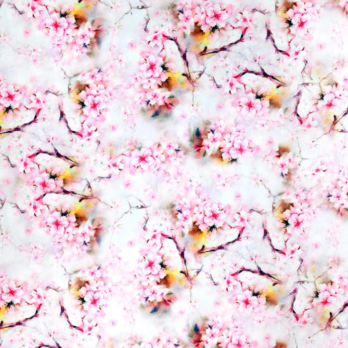 Tkanina, tanjša, cvetlični, 21072-001