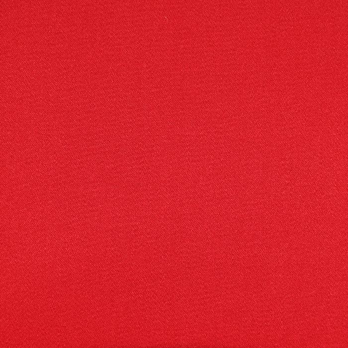Saten, bombaž, viskoza, 21093-425, rdeča