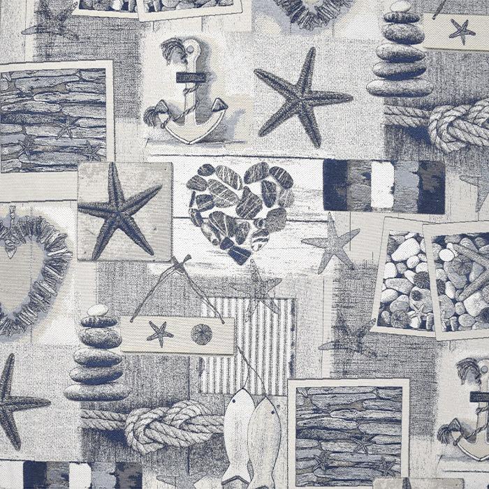 Dekostoff, Jacquard, Meer, 21138