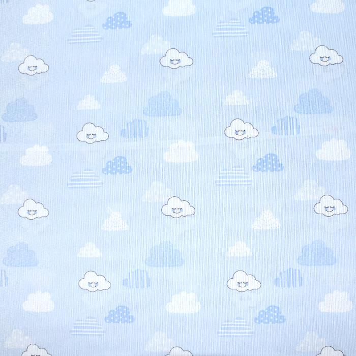 Deko, tisk, otroški, 21145-1, modra