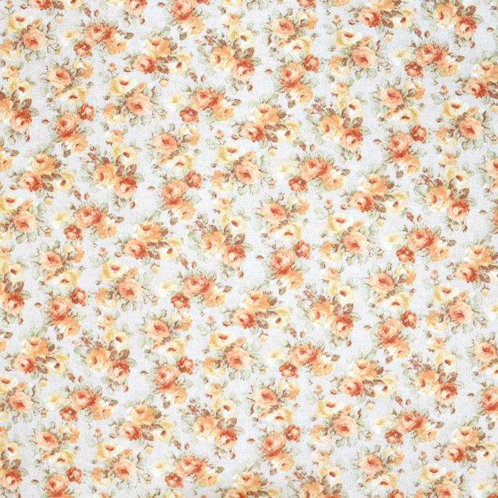 Deko, tisak, cvjetni, 21151-2, narančasta
