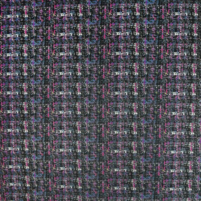 Kunstleder Lipo, 21176-2, schwarzrosa
