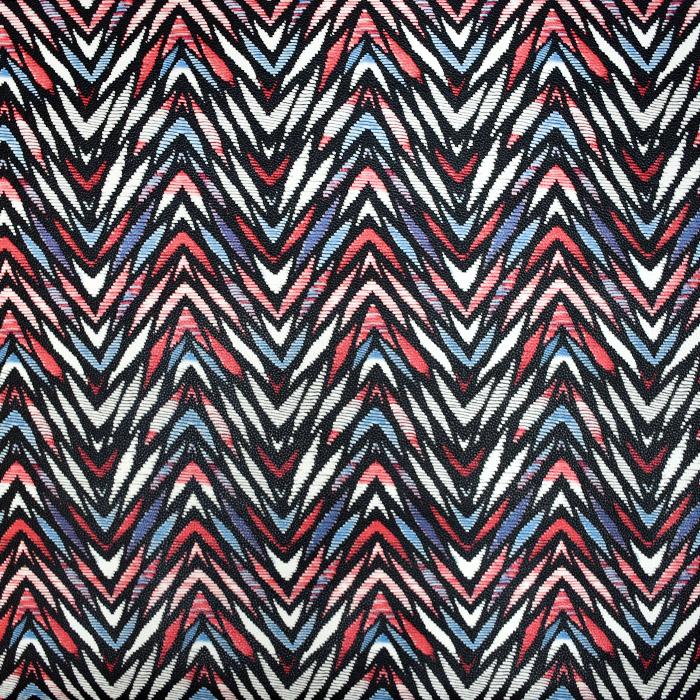 Kunstleder Cesta, 21177-2, rotblau
