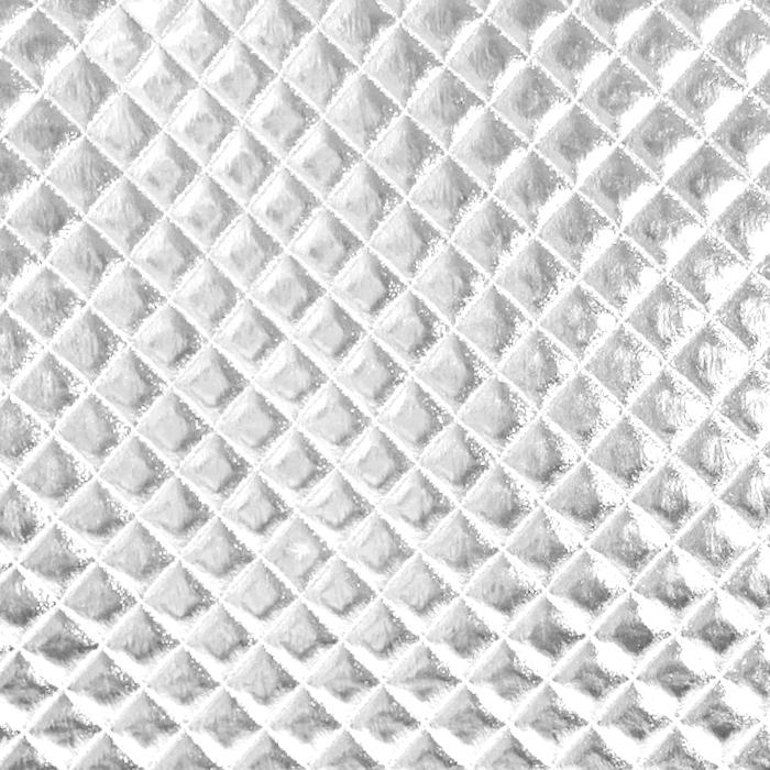Umetno usnje Kapitone, 21187-06, srebrna