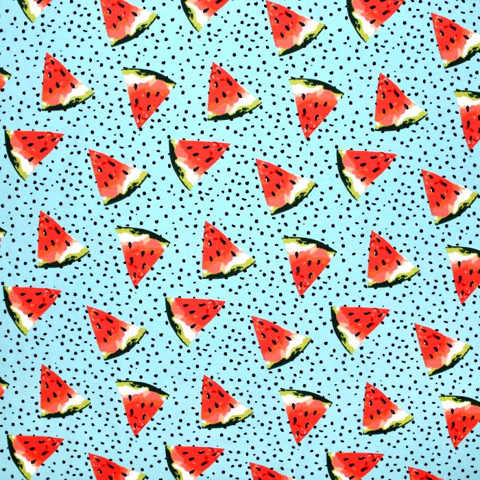 Jersey, bombaž, sadje, 21198-09, mint