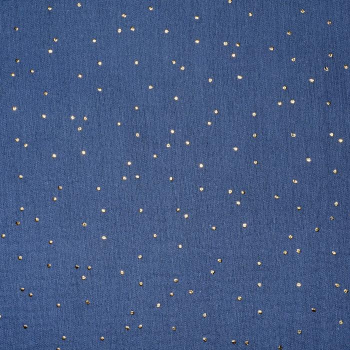 Tetra tkanina, dvojna, pike, 20757-7, temno modra