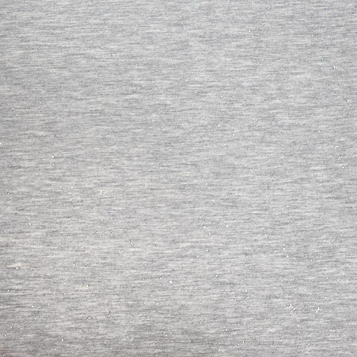 Jersey, bombaž, bleščice, 21205-63304, siva