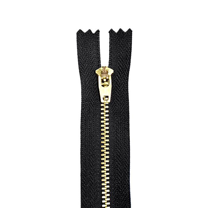 Zadrga, kovinska, 14cm, 21295-732, črna