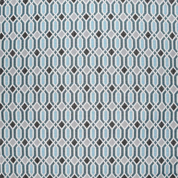 Deko žakard, geometrijski, 21312-42, turkizna