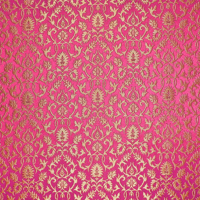 Žakard, stilni, 21355-4, roza