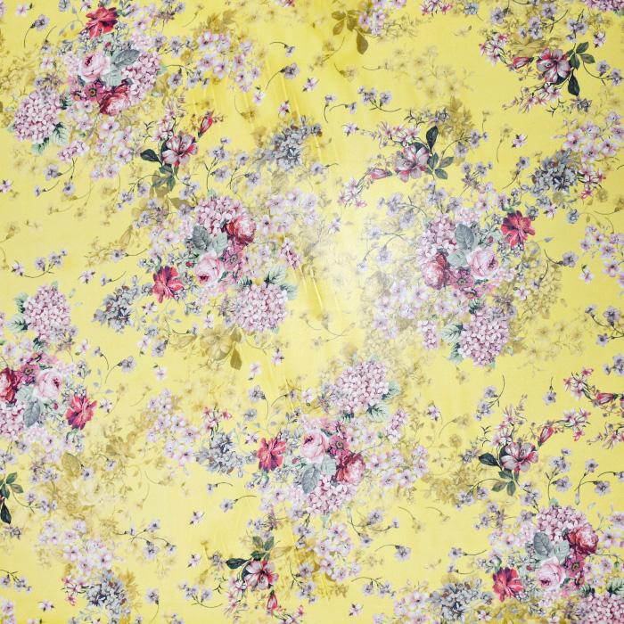 Svila, šifon, cvetlični, 21358-3