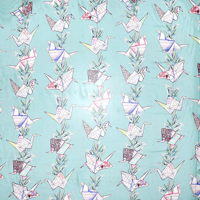 Svila, šifon, origami, 21358-4