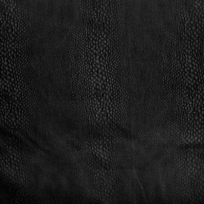 Bombaž, žakard, živalski, 21364-1, črna