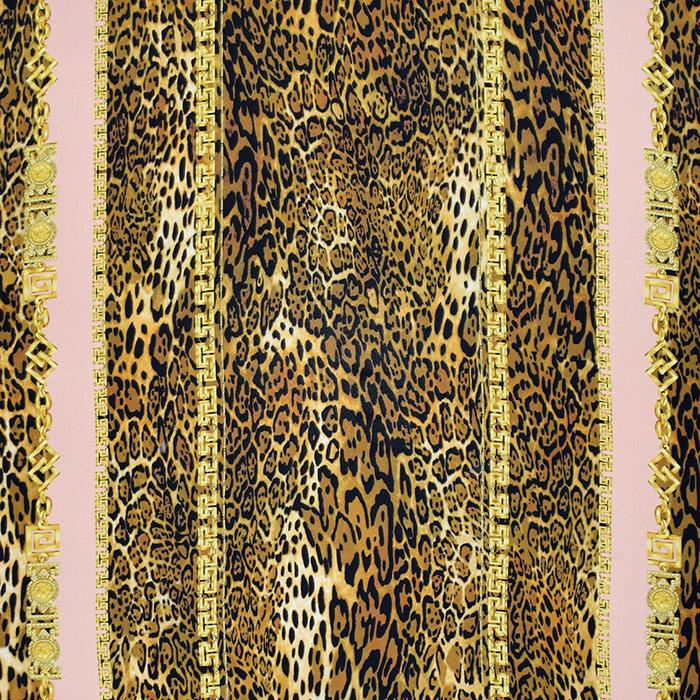 Svila, tisk, živalski, 21373-3