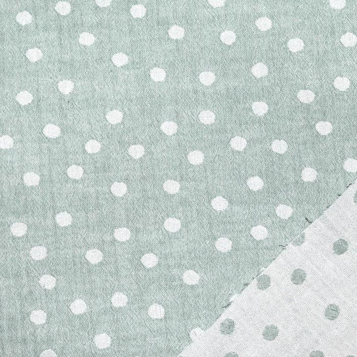 Tetra tkanina, obojestranska, pike, 21404-023, mint