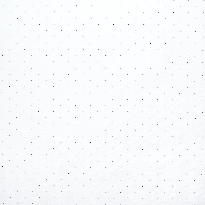 Tkanina, elastična, pikice, 20548-050, smetana