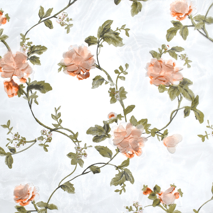 Organza, cvetlični, 21464-011