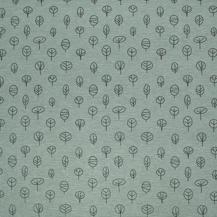 Deko, tisk, narava, 21471-068, sivo zelena